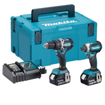 MAKITA DLX2180TJ 18V 5.0AH LI-ION BRUSHLESS TWIN PACK