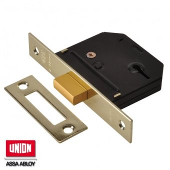 UNION ESSENTIAL 3 LEVER MORTICE DEADLOCK