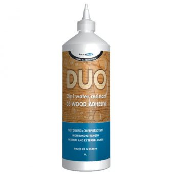 "BOND IT DUO ""2 IN 1"" WOOD GLUE - 1L"