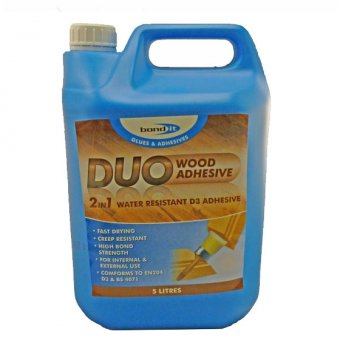 "BOND IT DUO ""2 IN 1"" WOOD GLUE - 5L"