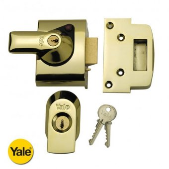 YALE BS1 60MM SECURITY NIGHTLATCH