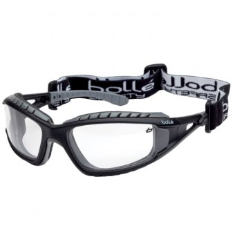BOLLE TRACPSI TRACKER VENTED SAFETY GOOGLES - CLEAR