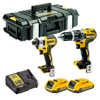 DEWALT DCK266D2 18V 2.0AH LI-ION BRUSHLESS TWIN PACK