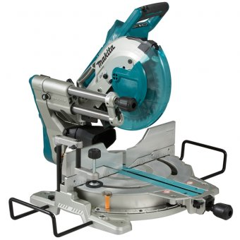 Makita DLS110 Twin 18v LXT BL Slide Compound Mitre Saw Bare Unit