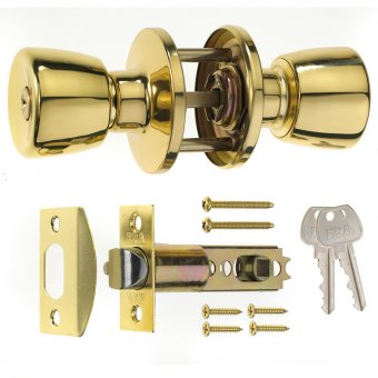 ERA 166 ENTRANCE KNOBSET WITH TUBULAR LATCH