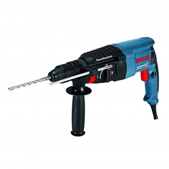 BOSCH GBH2-26F 110V SDS & ROTARY HAMMER DRILL WITH QUICK CHANGE CHUCK