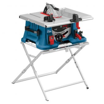BOSCH (GTS 635-216) 1600W 216MM TABLE SAW 240V WITH STAND - 0601B42071