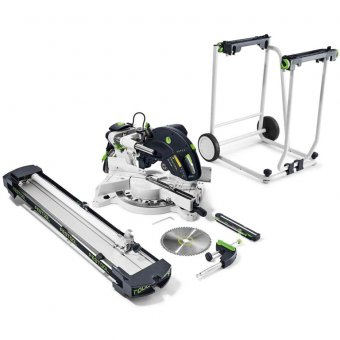 Festool Sliding compound mitre saw KS 120 Set-UG GB 240V KAPEX (2019 Model)