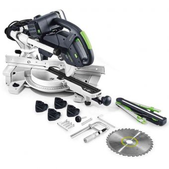 FESTOOL KAPEX KS 60 E-SET 240V SLIDING COMPOUND MITRE SAW