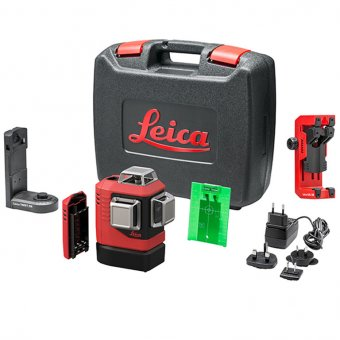 LEICA L6G 912971 LINO 360 GREEN LINE LASER WITH HARD CASE