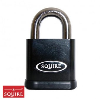 SQUIRE STRONGHOLD SS65 SOLID STEEL PADLOCK