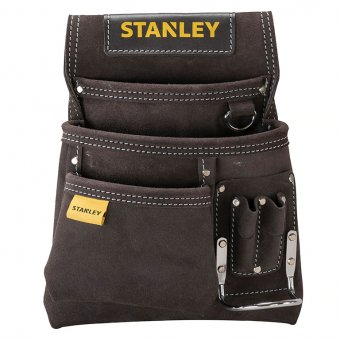 Stanley STA180114 leather nail & hammer pouch