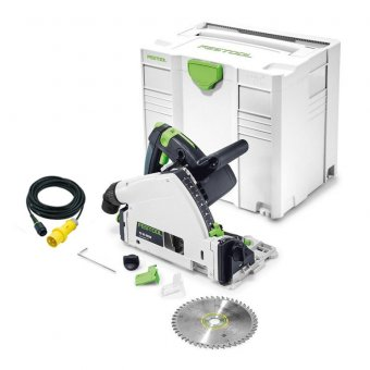 FESTOOL 561554 110V TS55 REQ-PLUS PLUNGE SAW