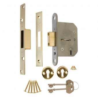 ERA VISCOUNT 5 LEVER MORTICE DEADLOCK