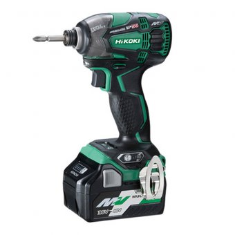 Hikoki wh36db/jr 36v Impact Driver with Batteries & charger