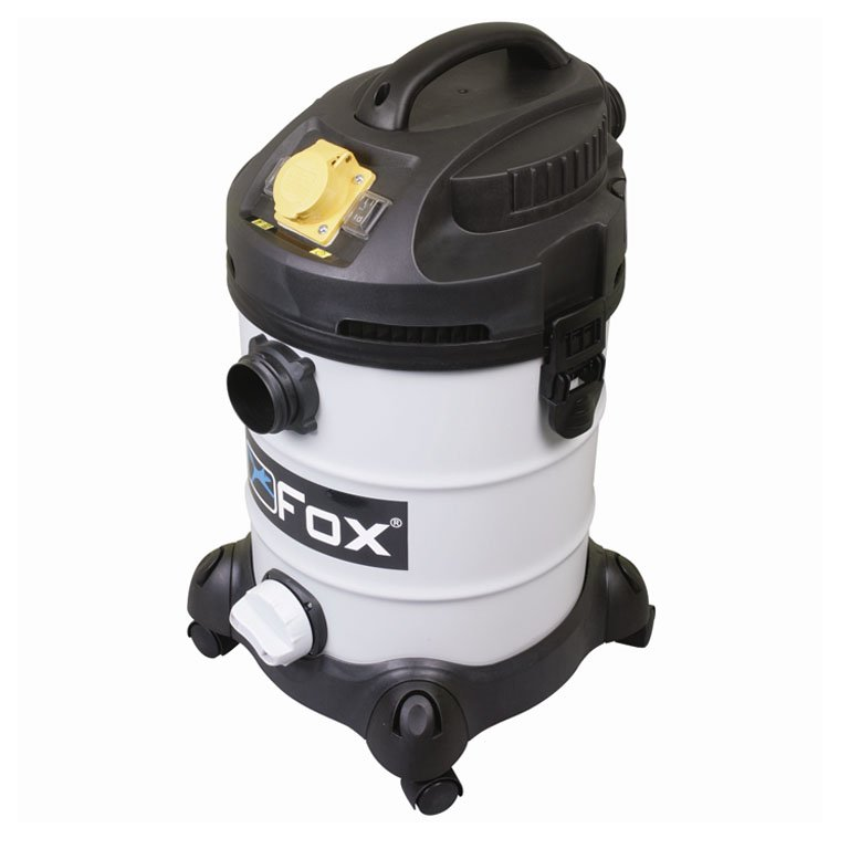 Fox F50-811-240 MClass 37L Dry Vacuum Cleaner 1400W Dust Extractor Power Takeoff