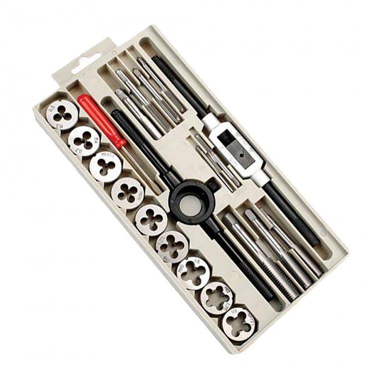 CK Tools T4032 21 Piece Metric Tap /& Die Set