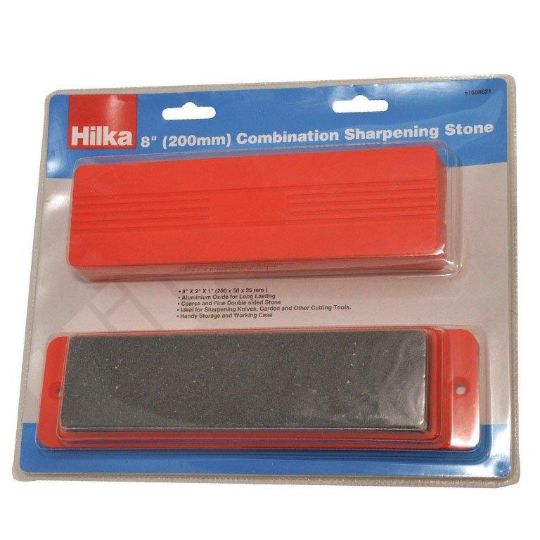 "Hilka 8/"" Combination Sharpening Stone 51508021"